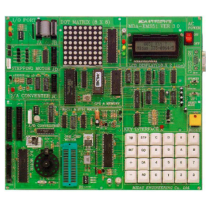 8Bit Microprocessor Emulation 8051 Board