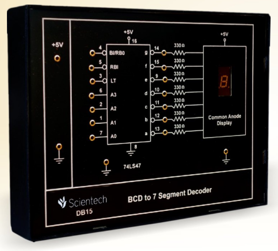 BCD to 7 Segments Decoder